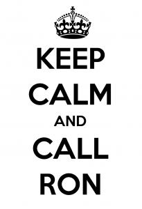 Keep Calm… Ron