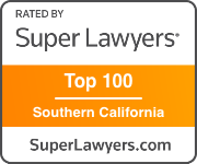 Super Lawyers Top 100 Lawyers in Southern California Badge Button